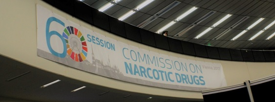 From the 13th to the 17th of March, was held in Vienna, the 60th session of the United Nations Commission on Narcotic Drugs.